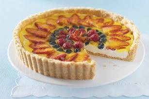 Triple-Berry Cheesecake Tart recipe