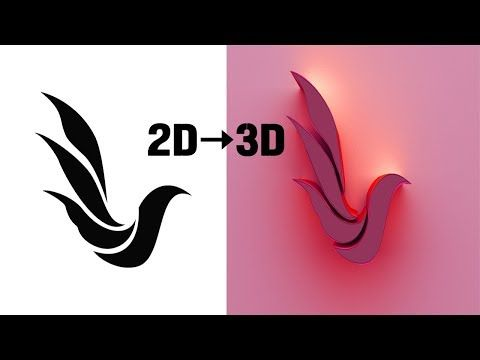 Photoshop Tutorial How To Convert A 2d Image To 3d Logo Complete Guide Youtube Logo Design Free 3d Logo Logo Design
