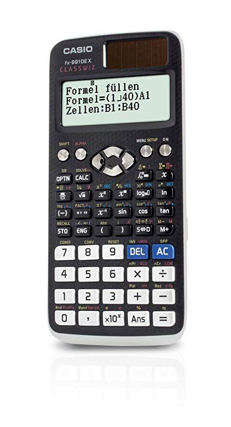 Casio Fx 991de X Wissenschaftlicher Classwiz Rechner Mit Naturlichem Display Amazon De Burobedarf Schreibwaren Schreibwaren Schreiben Zellen