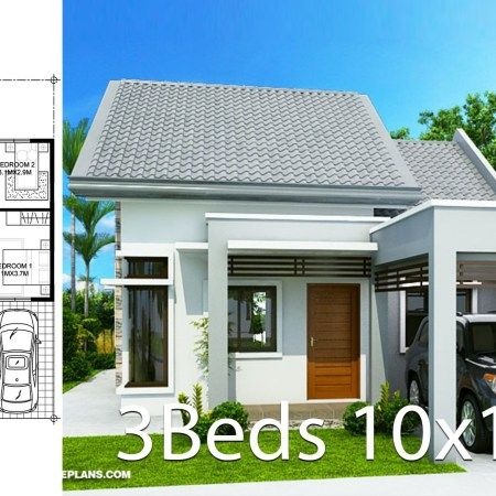 Home Design Plan 6x13m With 5 Bedrooms Home Ideas Home Design Plan Small House Design Plans House Design