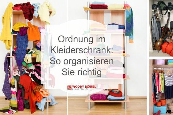 Ausgezeichnet Ordnung Kleiderschrank Tipps Optimalen Einraumen ...