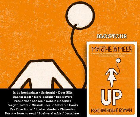 Up van Myrthe van der Meer gaat de komende dagen op blogtour. Iedere dag verschijnen er besprekingen op een aantal van de 17 deelnemende blogs. De eerste recensies zijn vanaf vandaag te lezen. Lees hier een compleet overzicht van alle blogs die meedoen aan de blogtour. http://www.thehouseofbooks.com/nieuws/blogtour-myrthe-van-der-meer
