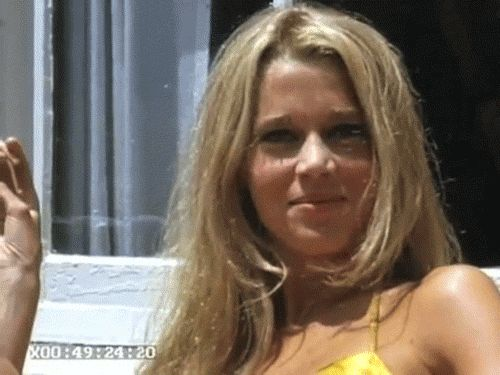 """ Jane Fonda on Malibu Beach in 1965 (GIf Click to see) """
