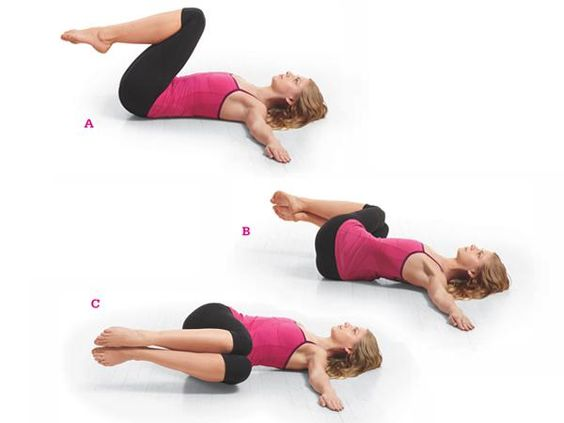 how to get flat belly by yoga
