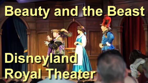 Beauty and the Beast Live Full Show Disneyland at  Fantasy Faire Royal T...