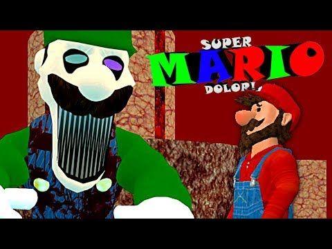 Mario Faces His Final Fear Super Mario Dolor Good Ending The