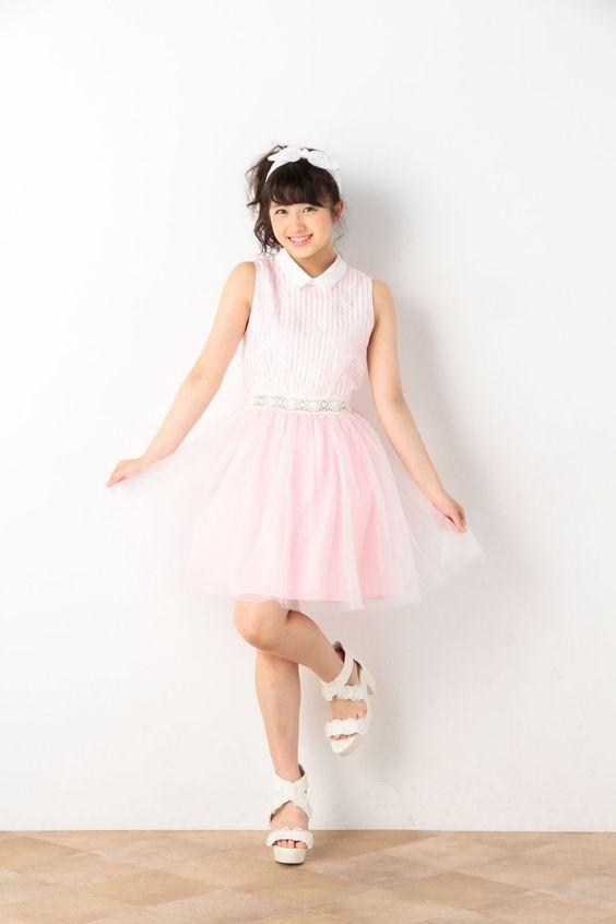ピンク色ワンピの大和田南那
