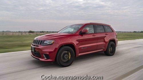 Asombroso Jeep Grand Cherokee Trackhawk Escuchando A Hennessey