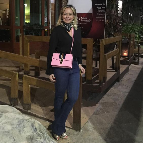 Sábado à noite no @gepposrestaurante ❤️ #andreafialho #estiloandreafialho