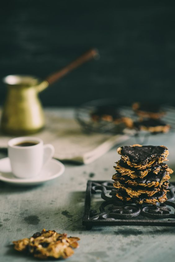 florentines with baklava spices