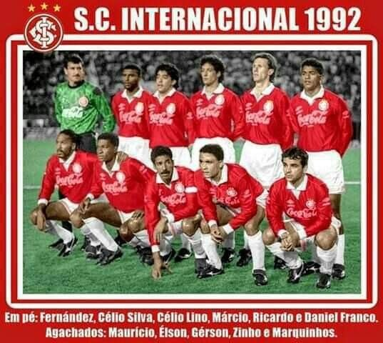 Corinthians 0 X 4 Internacional Copa Do Brasil 1992 Sport Clube Internacional Copa Brasil Sport Clube
