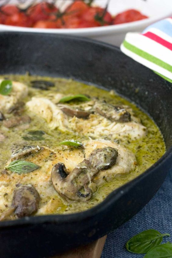 An easy skillet chicken dinner made with only six basic ingredients. Whip this…