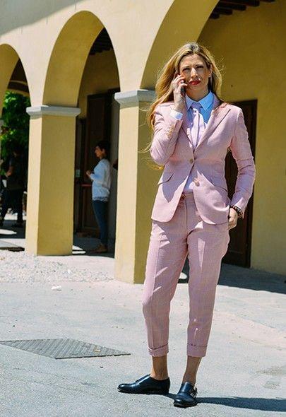 Streetstyle: o melhor da moda (feminina!) off catwalk do Pitti Uomo - Vogue | Streetstyle