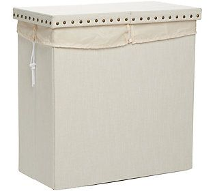 Home Decor Double Sided Laundry Basket