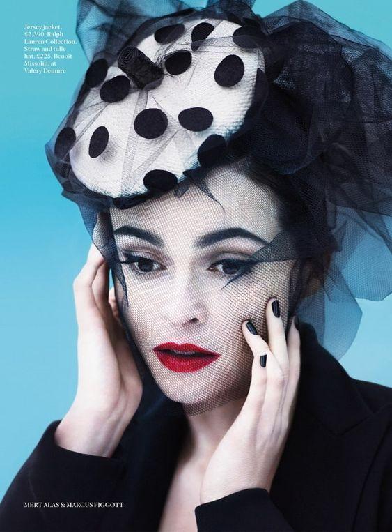 Helena Bonham Carter (Vogue UK)