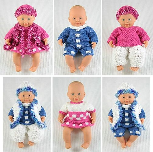 Free Baby Doll Knitting Patterns, small Breien ...