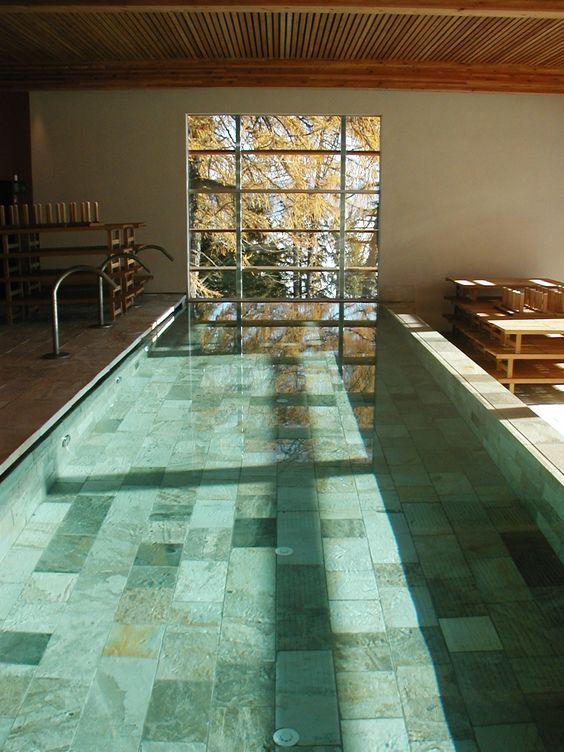 #Schwimmbad #Fliesenbau #Wellness #Wasser #Hotel Vigiljoch