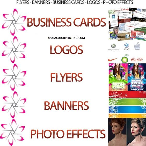 How to Promote Your Business with Business Cards, Postcards, Brochures, and Greeting Cards.