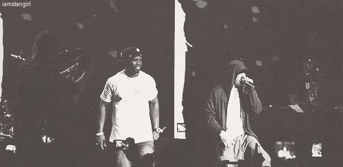 iamstangirl:  Eminem and 50 Cent
