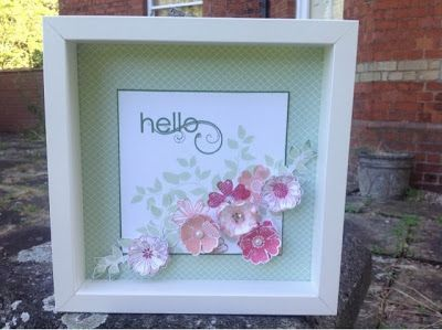 Stampin Up UK Demonstrator Zoe Tant blog: Stampin' Up! Flower Shop - pretty as a picture!