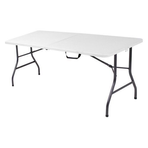 Costco Folding Table In Store.Cosco Products Centerfold Folding Table 6 Feet Lounge