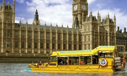 London Duck Tours: Land and River Sightseeing Tour for £16.50 (31% Off)