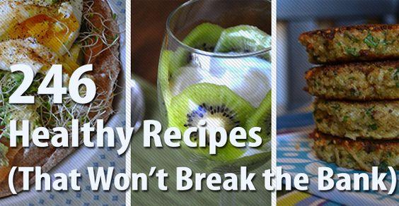 Healthy Recipes that Won't Break the Bank