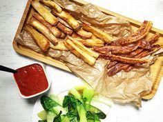 Maniok Fries mit Pak Choi und easy Ketchup - Powered by @ultimaterecipe