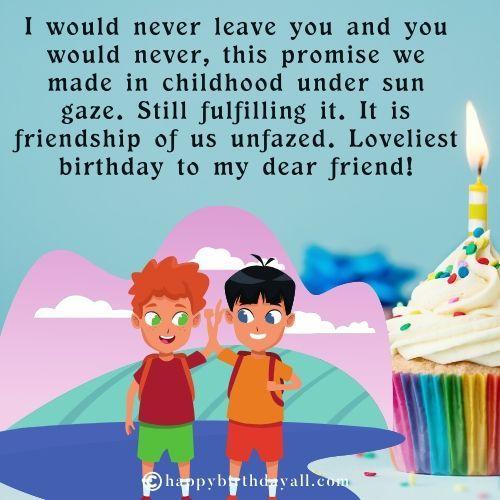50 Best Happy Birthday Wishes For Childhood Friend Happy Birthday Quotes For Friends Birthday Wishes For Friend Happy Birthday Fun