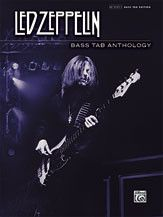 Led Zeppelin: Bass TAB Anthology (Book)