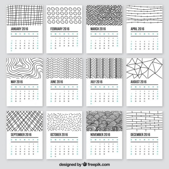 Year Calendar Print Out : Yearly calendar free printable and