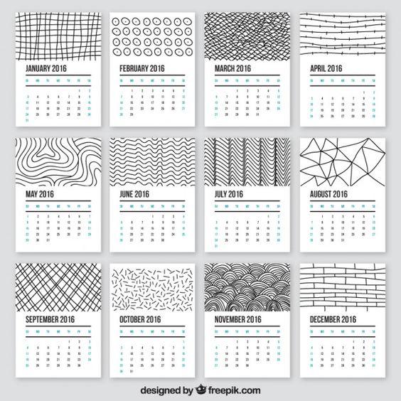 Yearly calendar, Free printable calendar and Printable calendars on ...