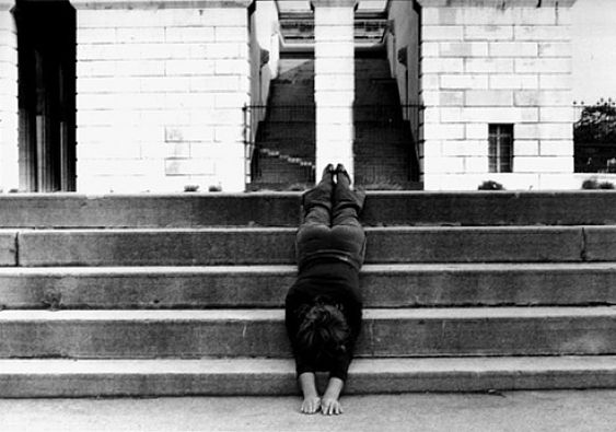 Valie Export, Body Configurations in Architecture, Vienna