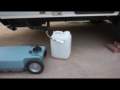 Youtube Diy Grey Water Tank Diy Caravan Diy Tank Water Tank