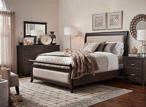 Upholstered Bedroom Set, Union City Furniture