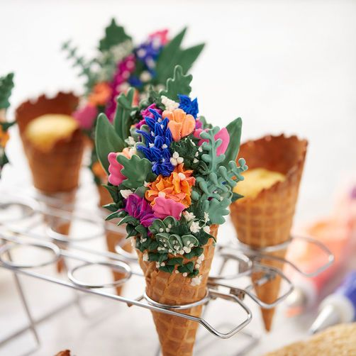 Cupcake Cones Baking Rack 12 Cavity Ice Cream Cone Cupcakes