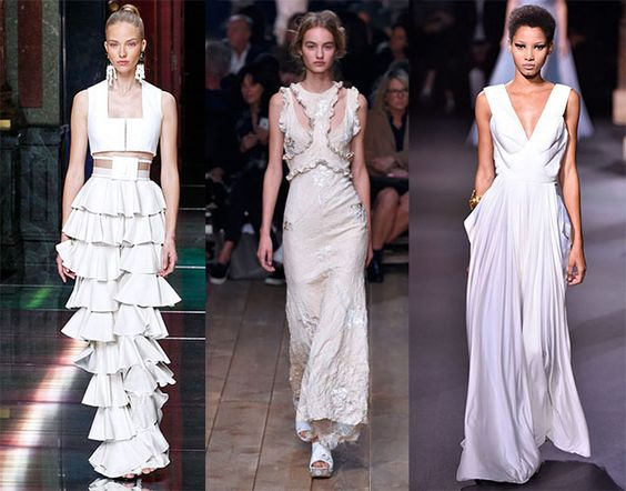 20 Vestidos de Noiva | Paris Fashion Week Spring 2016