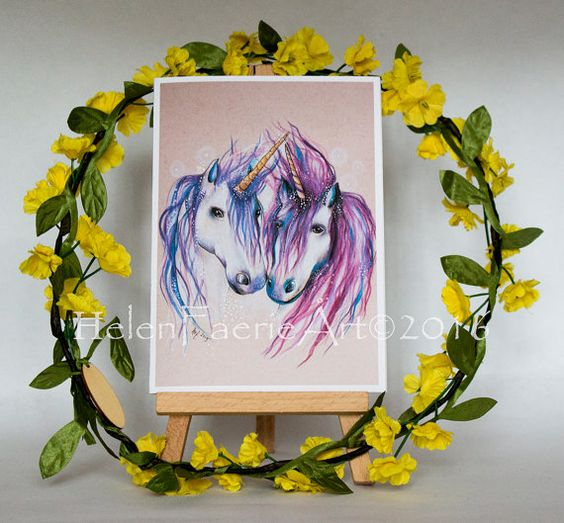 Hey, I found this really awesome Etsy listing at https://www.etsy.com/uk/listing/270746784/blank-greeting-cards-4-x-6ins-unicorn