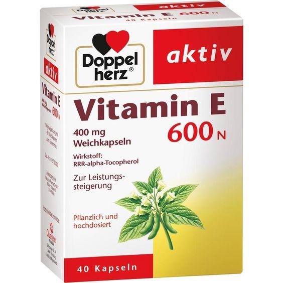 DOPPELHERZ Vitamin E 600 N Weichkapseln:   Packungsinhalt: 40 St Kapseln PZN: 10057811 Hersteller: Queisser Pharma GmbH & Co. KG Preis:…