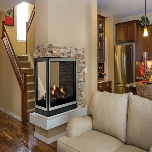 Madison Clean Face Multi Sided Fireplace Fireplace Fireplace
