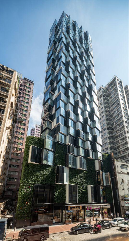Aedas Designed The Beacon In Hong Kong Aedas Archinect Building Architecture Green Building