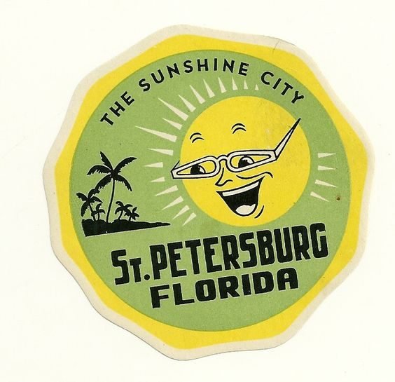 st. pete sticker