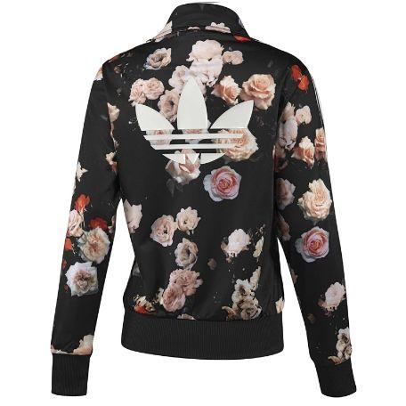 flower adidas jacket