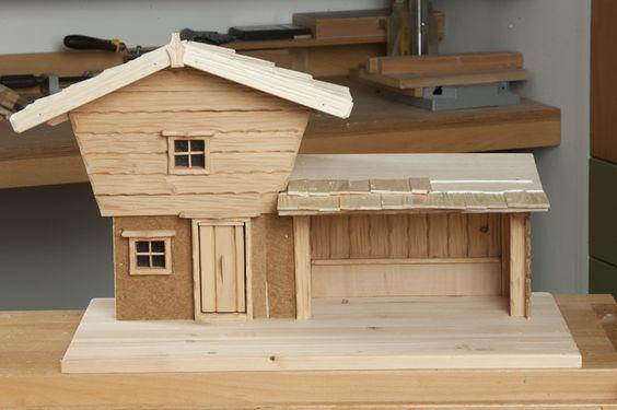 Selbst ist der Mann - Bauplan: Tessiner Krippe 12/2012
