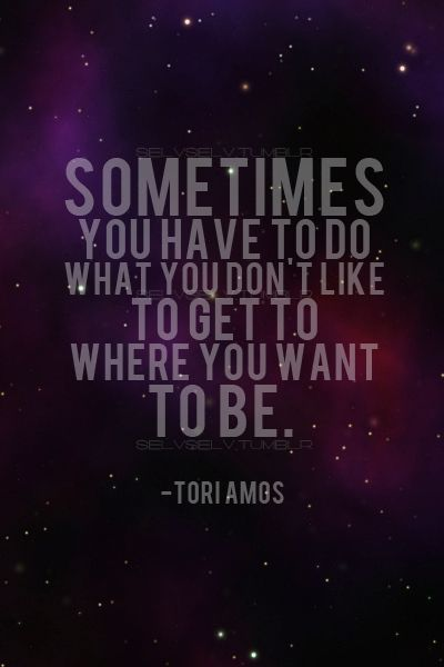 """Tori Amos - 'Under the Pink' / """"Sometimes you have to do what you don't like to get to where you want to be.""""  #rainn"""