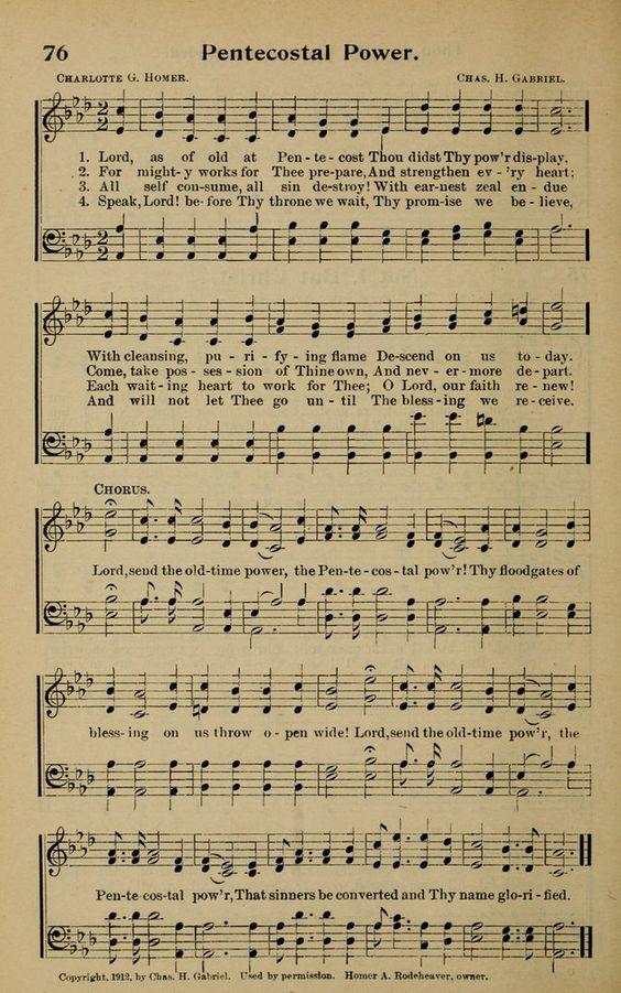 pentecost music 2017