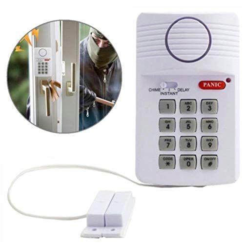 Wireless Door Alarm 110 Decibel Indoor Personal Securit Https Www Amazon Com Dp B07 Home Security Alarm System Home Security Alarm Home Security Systems