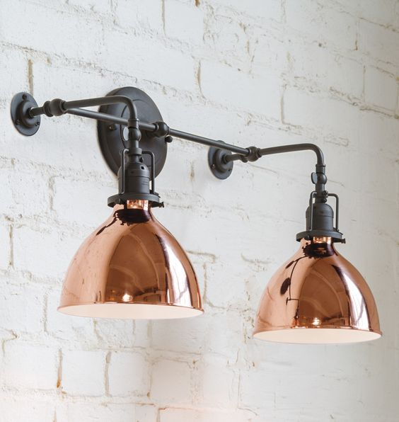Beautifull! See more Copper inspirations at http://www.brabbu.com/en/inspiration-and-ideas/ #CopperLighting #CopperDesign #CopperDecoration