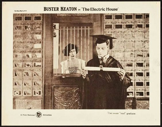 Buster Keaton ~ The Electric House