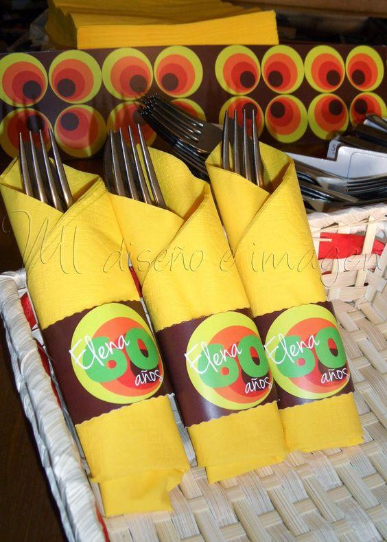 Fiesta de cumplea os tem tica a os 60 decoraci n de - Decoracion cumpleanos adultos 60 anos ...